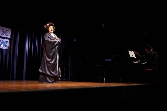 Gladys Biglia, toda una nueva revelación en su debut con Öpera Mercosur