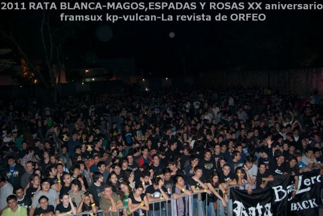 El público que se congregó en Vulcan para el concierto.
