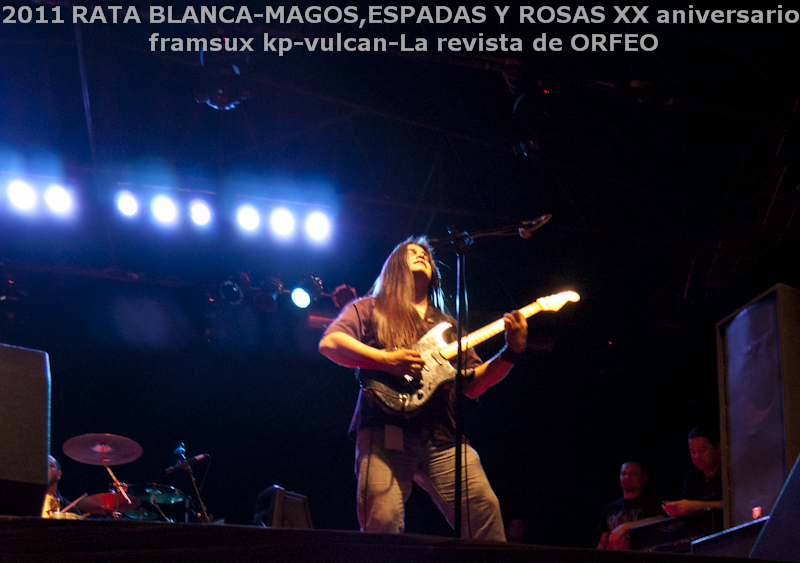 RATA BLANCA EN PARAGUAY: ABRAZANDO EL ROCK AND ROLL! (3/6)