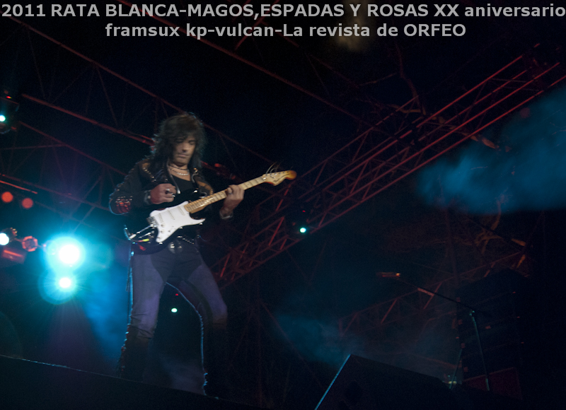 RATA BLANCA EN PARAGUAY: ABRAZANDO EL ROCK AND ROLL! (5/6)