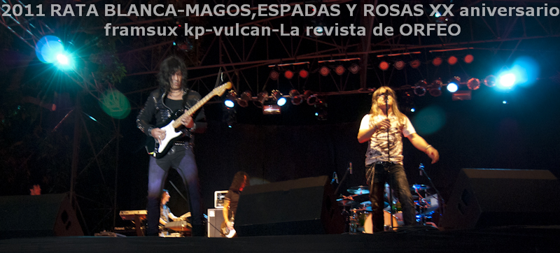 RATA BLANCA EN PARAGUAY: ABRAZANDO EL ROCK AND ROLL! (2/6)