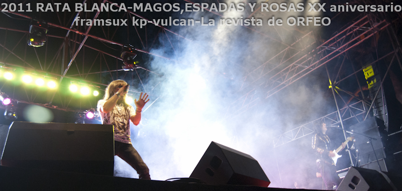 RATA BLANCA EN PARAGUAY: ABRAZANDO EL ROCK AND ROLL! (6/6)