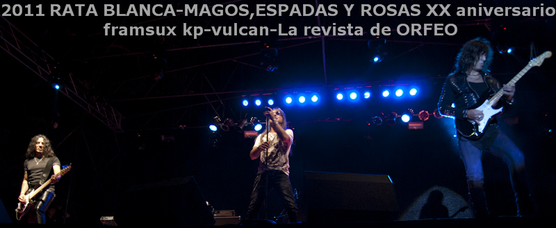 RATA BLANCA EN PARAGUAY: ABRAZANDO EL ROCK AND ROLL! (1/6)