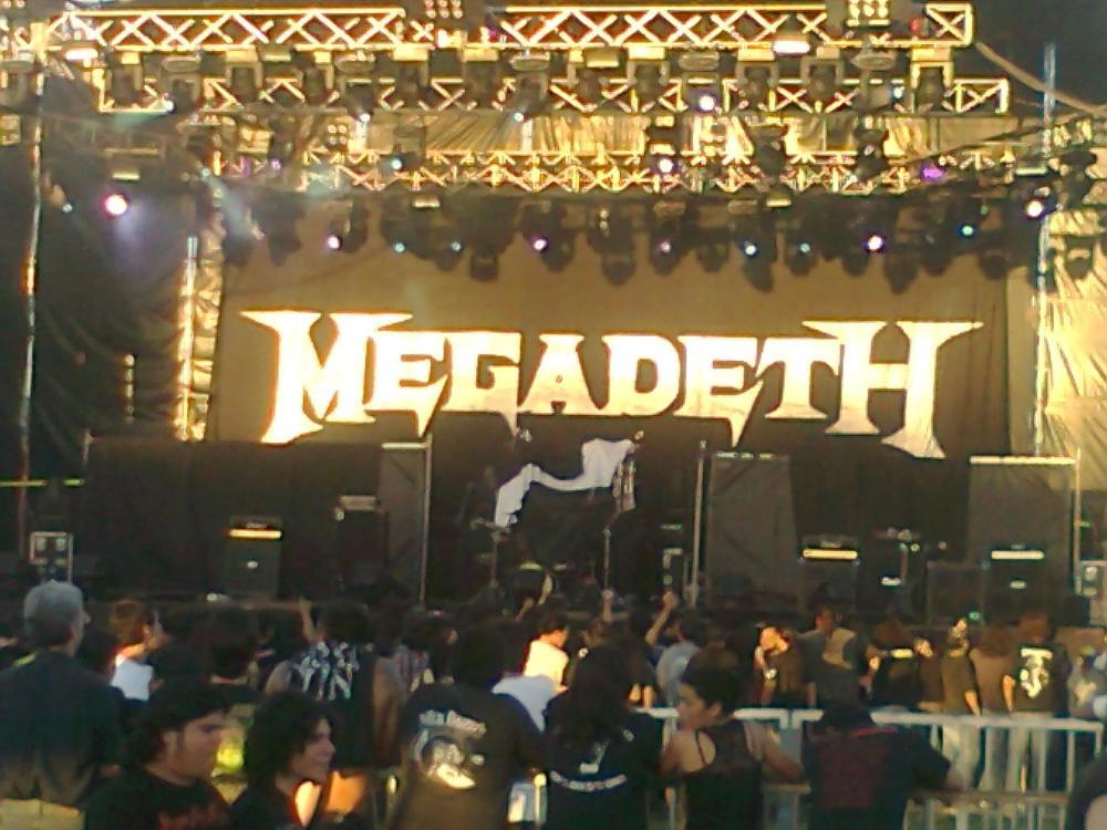 MEGADETH EN PY - IMPRESIONES DE UN JOVEN METALHEAD. (1/2)