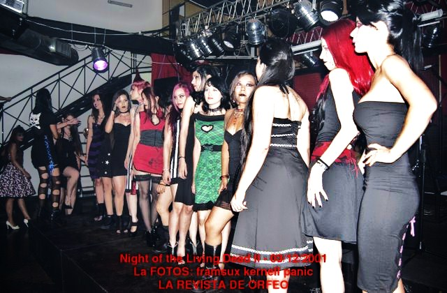 DESFILE DE MODA ALTERNATIVA: NIGHT OF THE LIVING DEAD II. (4/6)