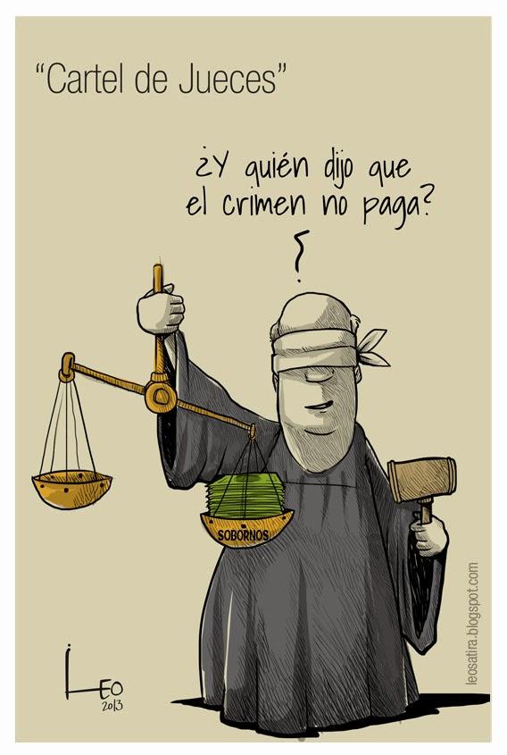 cartel de jueces