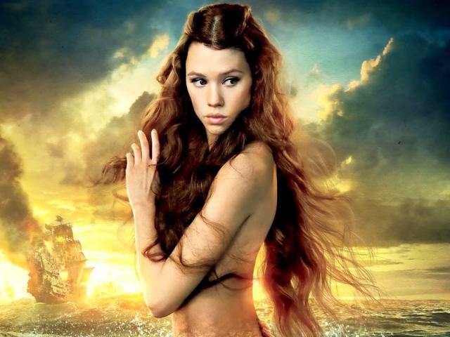 Sirena de la película Piratas del Caribe.