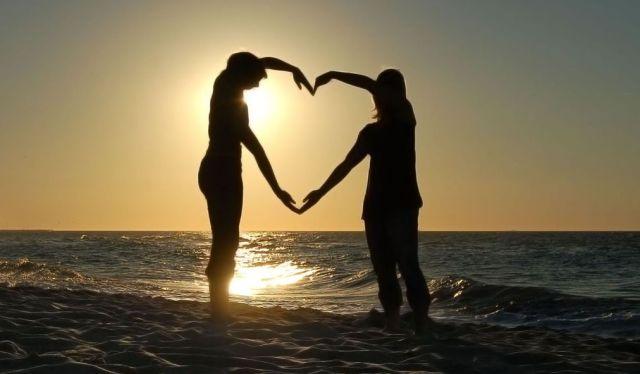 El amor es una elección mutua.