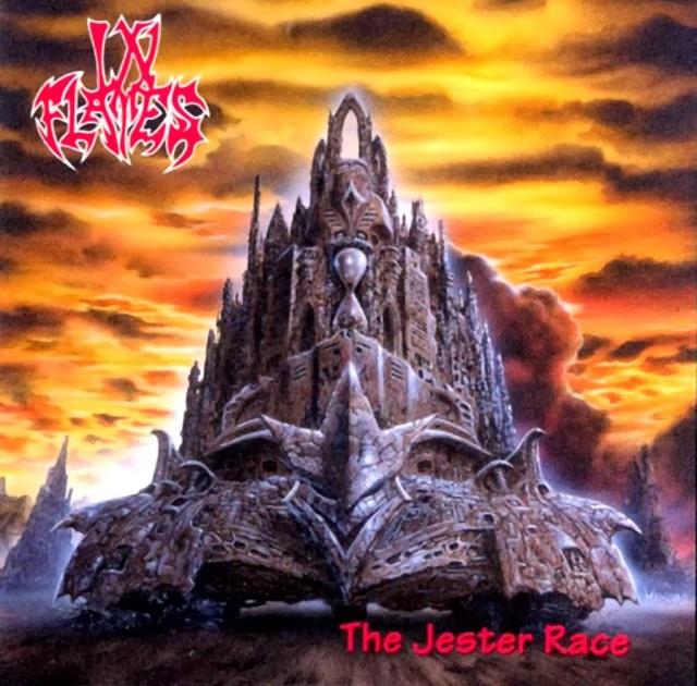 Portada del álbum THE JESPER RACE de IN FLAMES.